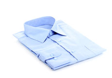 New blue man's shirt Stock Images