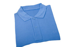 New blue shirt Stock Photos