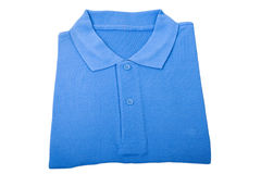 New blue shirt Royalty Free Stock Photos