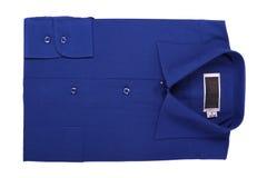 New blue shirt Stock Photos