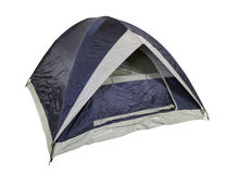 New Blue Tent Stock Photo