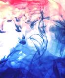 New blue wave. Pastel photo montage Stock Images