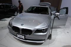 New BMW 750Li Royalty Free Stock Photography