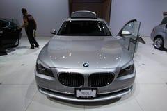 New BMW 750Li Royalty Free Stock Photos