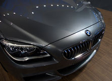 New BMW 6er Gran Coupe at the Belgrade Motor Show Stock Images