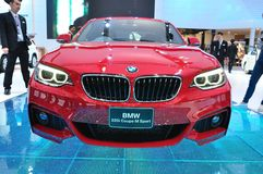 NEW BMW 220I coupe M sport on display Royalty Free Stock Image