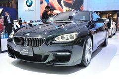 NEW BMW 640I coupe M sport Royalty Free Stock Photography
