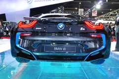 NEW BMW I8  on display Stock Photography