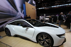 New BMW i8 Ultimate Driving Machine Royalty Free Stock Photos
