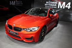 The New BMW M4 Coupe Royalty Free Stock Images