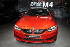 The New BMW M4 Coupe Stock Photography