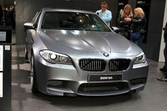 The new BMW M5 Stock Photo