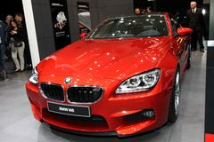 The new BMW M6 Royalty Free Stock Images