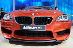New bmw m6 front Stock Photography