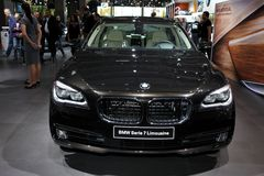 The New BMW Serie 7 Limousine Stock Photo