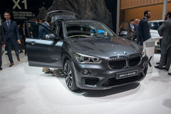 New BMW X1 - world premiere. Stock Photo