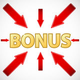New bonus icon Royalty Free Stock Photography