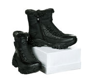 New boots Stock Images