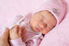 New born Royalty Free Stock Photography
