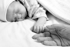 New born baby Royalty Free Stock Photo
