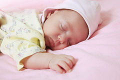 New born baby Stock Images
