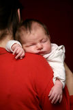 New-born baby Stock Images