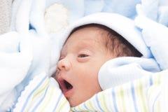A New Born Baby Boy Royalty Free Stock Photo