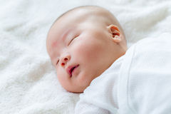 New born baby sleep Royalty Free Stock Photos