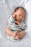 New Born Baby sleeping Royalty Free Stock Photography