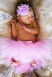 New born baby. stock image