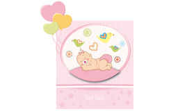New born boy girl Stock Image