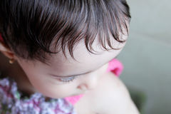 New born girl Royalty Free Stock Images