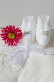 New Born Shoes Stock Images
