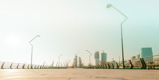 New Boulevard in Baku Ag Sheher Stock Photos
