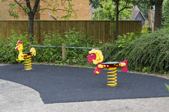New Bradwell area playground in Milton Keynes Royalty Free Stock Photo