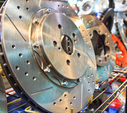 New brake disc Stock Photography