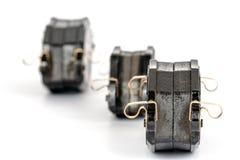 Brake pad sets Royalty Free Stock Image