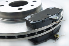 New Brake Pads and Disk Stock Image