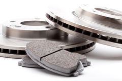 New Brake Pads and Disks Stock Image