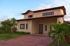 New Brazilian House stock photography