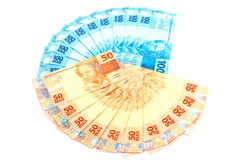 New Brazilian Money Royalty Free Stock Photo