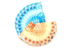 New Brazilian Money Royalty Free Stock Photos