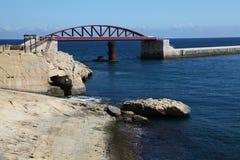 New Breakwater Bridge Royalty Free Stock Photo
