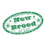 New breed rubber stamp Royalty Free Stock Photos
