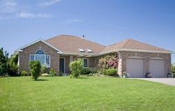 New Brick Home Royalty Free Stock Photo