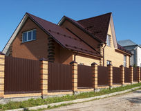 New brick house Royalty Free Stock Photography