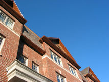 New brick townhomes Royalty Free Stock Images