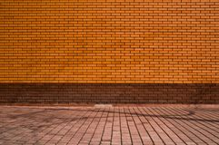 New brick wall Royalty Free Stock Images