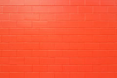 New brick Wall. Stock Images