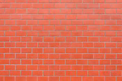 New brick wall background. New red brick wall background Royalty Free Stock Photography